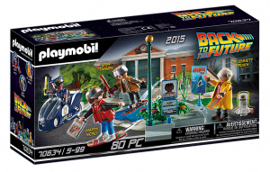 PLAYMOBIL Back to the Future II: Hoverboard achtervolging (70634)