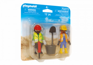 PLAYMOBIL builders Duopack junior 12-piece