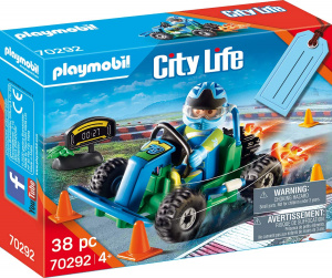 PLAYMOBIL gift set Kart Race junior 48-piece