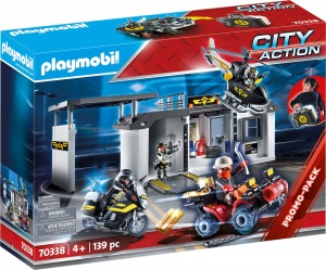 PLAYMOBIL City Action meeneemkoffer politiecentrale speciale interventie (70338)