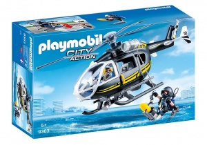 PLAYMOBIL City Action: SIE-helikopter zwart (9363)