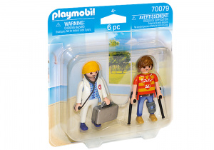 PLAYMOBIL City Lifedoctor and patient