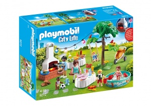 PLAYMOBIL City Life: Familiefeest met barbecue (9272)