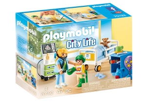 PLAYMOBIL City Life - Children's Hospital Room (70192)