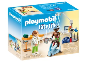 PLAYMOBIL City Life - Physiotherapist practice (70195)