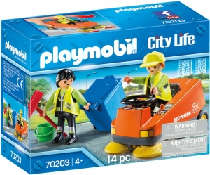 PLAYMOBIL City Life - Street sweeper (70203)