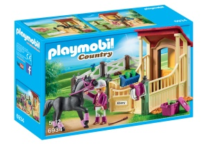 PLAYMOBIL Country arabes avec boxes à chevaux (6934)
