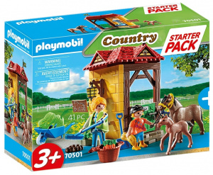 PLAYMOBIL Country Starterpack - Manege (70501)