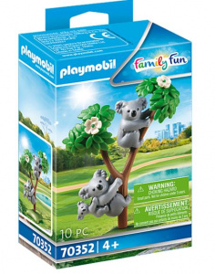 PLAYMOBIL Family Fun - 2 Koalas with baby (70352)