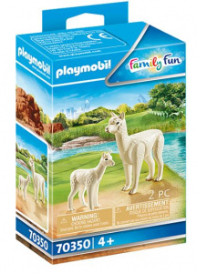 PLAYMOBIL Family Fun - Alpaca with baby (70350)