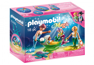 PLAYMOBIL Magicmermaid family multicolor