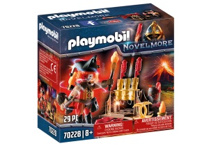 PLAYMOBIL Novelmore - Burnham Raiders fireman (70228)