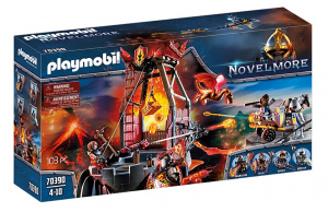 PLAYMOBIL Novelmore - Burnham Raides lava mine 103-piece (70390)