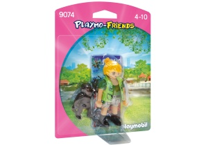 PLAYMOBIL Playmo-friends: Zookeeper with Gorilla (9074)