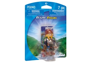 PLAYMOBIL Playmo-Friends - Guerrier nain (70240)