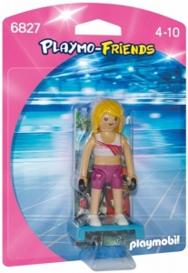 PLAYMOBIL Playmo-Friends: Fitness Coach (6827)