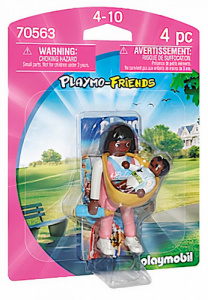 PLAYMOBIL Playmo-Friends - Mommy with baby carrier (70563)
