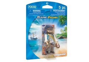 PLAYMOBIL Playmo-Friends - Pirate avec boussole (70032)