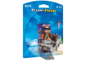 PLAYMOBIL Playmo-Friends: Piraat met schild (9075)