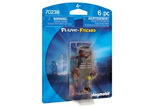 PLAYMOBIL Playmo-Friends - agent SIE (70238)