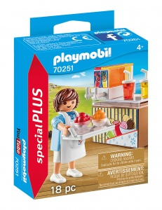 PLAYMOBIL Playmo-Friends : Vendeuse de neige fondue (70251)