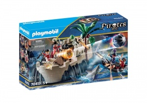PLAYMOBIL Pirates: Fortress of Soldiers (70413)-S