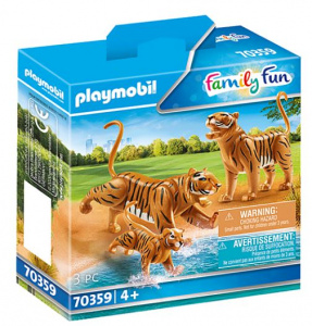 PLAYMOBIL Familienspaß - 2 Tiger mit Baby (70359)