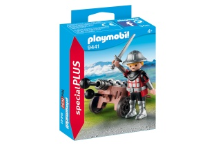 PLAYMOBIL Special Plus - knight with cannon (9441)