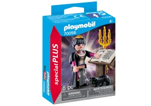 PLAYMOBIL Special Plus - Heks met toverboek (70058)