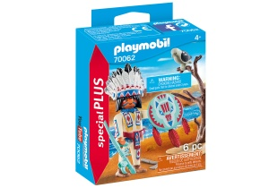 PLAYMOBIL Special Plus - Indigenous Tribal Chief (70062)
