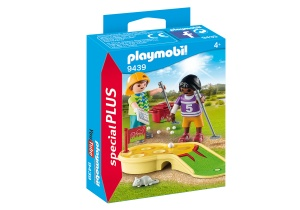 PLAYMOBIL Special Plus - children with minigolf (9439)