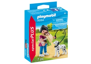 PLAYMOBIL Special Plus - Mom with baby in baby carrier (70154)