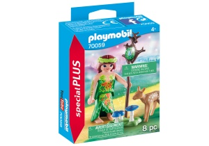 PLAYMOBIL Special Plus - Nimf en hertenkalf (70059)