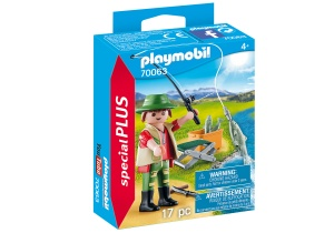 PLAYMOBIL Special Plus - Fisherman with rod (70063)