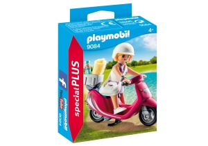 PLAYMOBIL Special Plus: Summer Girl With Scooter (9084)