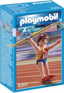 PLAYMOBIL Sport en Action: Speerwerpster (5201)