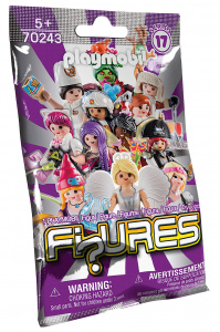 PLAYMOBIL sac surprise Series 17- Figures Filles junior