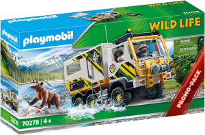 PLAYMOBIL Wild Life: Expeditietruck (70278) junior PC 25-delig