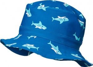 Playshoes UV Protection Fishing Hat Shark