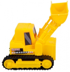 PMS Construction Vehicle Loader 11 cm yellow