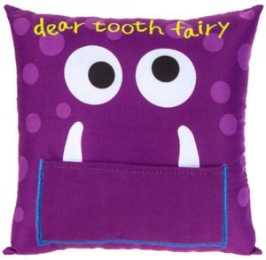 4f65e0dfa3d Kamparo Tooth fairy cushion purple 20 cm