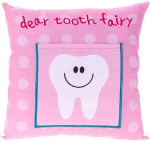 ad597cda85f Kamparo Tooth fairy cushion pink 20 cm