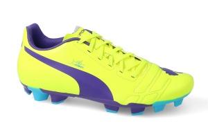ee5ea9403dfb Puma football boots EvoPower 4 junior yellow