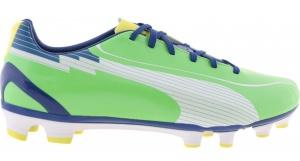 6691c4fd3c50 Puma soccer Evospeed 5 FG green boys