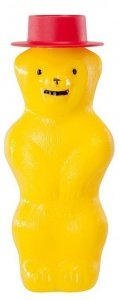 Pustefix bubble bear 180 ml yellow