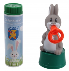 Pustefix bubble bladder Easter bunny 42 ml multicolor