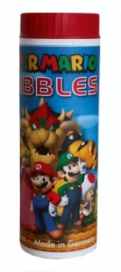 Pustefix bubbles Super Mario 70 ml red