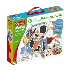 Quercetti magneetpuzzel Works magnetic junior 15-delig
