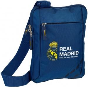 8330cb2e870 Real Madrid schoudertas blauw luxe 1,5 l