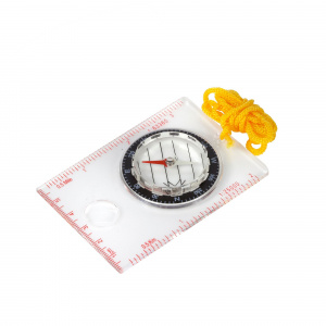 Regatta card compass 11 cm white/yellow
